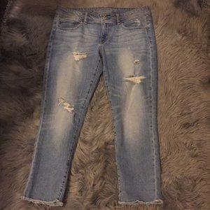 American Eagle Skinny Crop Jeans